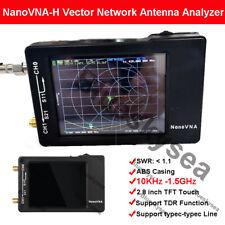 NanoVNA-H 10KHz-1.5GHz Vector Network Antenna Analyzer VNA HF VHF UHF w/ Shell