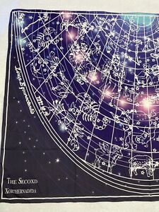 The Secoxd Wall Hanging Tapestry Constellations Horoscopes Blue White Zodiac