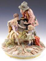 Antique Scheibe Alsbach Figurine KIDS & MUSICIAN Artist Signed Heinz Schober