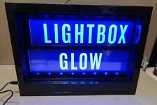 "Lightbox Glow Heidi Swapp Blacklight Box USB or Battery 9""X13""X2""50 Letters 137H"