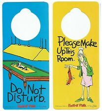 5 DO NOT DISTURB Signs - Door Hanger Knob Handle Signs Hotel Room