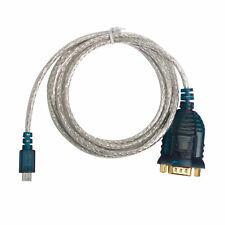Micro USB to Serial FTDI CHIPSET RS232 WIN 7 8 10 DB9 Adapter Conventor Cable