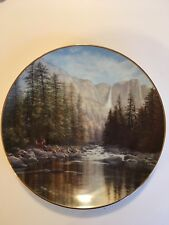 W.S. George - Yosemite Falls - Harry Johnson - 1988 - 9823B - Collector Plate