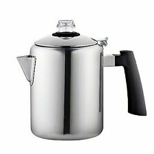 Cook N Home 8 Cup Stainless Steel Stovetop Coffee Percolator Pot Kettle