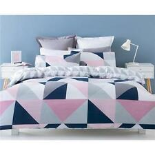 Polycotton Geometric Quilt Covers