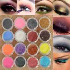 16PCS Glitter Mixed Color Powder Eyeshadow Makeup Eye Shadow Cosmetics Set FT