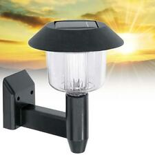 Solar Powered Wall Light Auto Sensor Fence LED Garden Yard Fence Lamp Outdoor TR