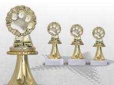 3er Pokalserie HUNDE HUNDESHOW AGILITY HUNDESPORT Pokale günstig kaufen