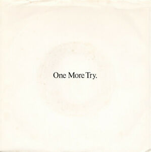 George Michael, One More Try, NEW* US promo jukebox 7 inch vinyl single