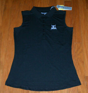 New Callaway Golf Ladies Size- Medium Opti Dry Sunset Hills Caviar Polo Shirt