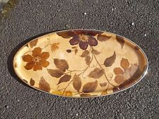 VINTAGE RETRO 1960 'S OVAL SERVING TRAY