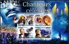 BURUNDI 2011 Imperf MNH SS, Singers, Music, Stevie Wonder, Tina Turner, Dominos