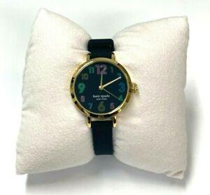Kate Spade New York Metro Black Silicone Watch KSW1650
