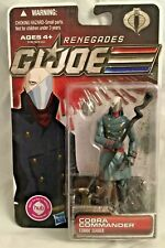 GI JOE 30th Anniversary Renegades Cobra Commander New Action Figure