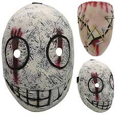 Halloween Dead By Daylight Legion Frank Mask Cosplay Fancy Costume Smile /Horror