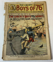 1909 pulp ~ LIBERTY BOYS OF 76 #442 ~ American Revolution