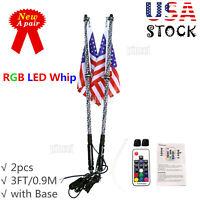 Quick Light Fiber Optic Standard Whip 2ft w// Red LED Base 1