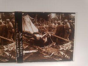 plaque photo verre positif militaria Verdun avion Allemand  ww1 14/18 **