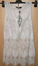 Motel Rocks Chad Cream Scallop Lace Dress BNWT Size: Small