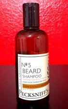 Pecksniff's Male Grooming No 5 Beard Shampoo Cedar&Sicillian Bergamot 8.4 oz New