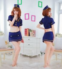 Cute Women Cool Girl Navy Cosplay Uniform Role Play Party Wear, UK Size 8-12