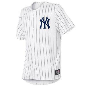 New York Yankees Majestic MLB Fan Replica Jersey - White
