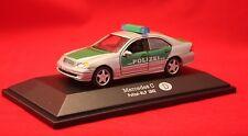 Modellauto/Mercedes C/ Polizei-RLP 2002/ Maßstab 1:43/ OVP/ ab 14+ Jahre