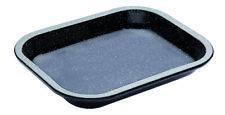 NEW MasterPro Vitreous Enamel Baking Tray 27x21cm