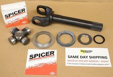 CHROMOLY OUTER AXLE SHAFT U JOINT AND SEAL KIT DANA 44 FORD BRONCO F150 F250