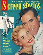 Ricardo Montalban signed vintage Screen Stories magazine Dec 1950 Fantasy Island
