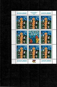 Bosnia, Republic of Srpska 2000, EuropaCEPT, 1.50KM stamps in mini sheet, MNH