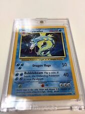 Pokemon Card - Base Pokemon Card - GYRADOS - 6/102 HOLO RARE RARE NM