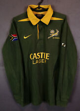 VINTAGE NIKE RUGBY UNION SOUTH AFRICA 2001/2003 SPRINGBOKS SHIRT JERSEY SIZE M