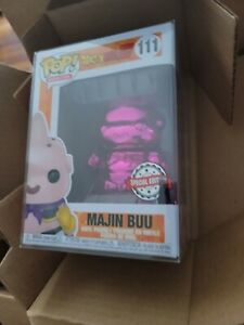 Dragon Ball Z - Majin Buu (Pink Chrome) Special Edition Exclusive In Protector