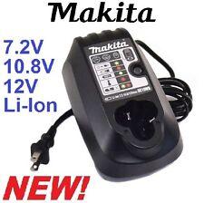 Brand NEW Makita DC10WB 7.2V - 10.8V 12V 12 Volt Max Lithium-Ion Battery Charger