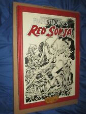 RED SONJA (CONAN) Signed/#'s Dynamite ART EDITION HC/HB Book by Frank Thorne #3