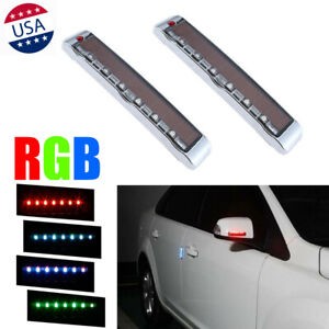 Solar Car Door Edge Guard Anti-collision Anti-static LEDs Strobe Warning Lights