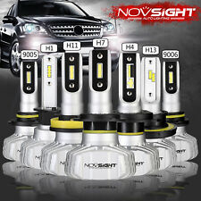 NOVSIGHT  H1/H4/H7/H11/9006/9005 10000LM LED Headlight Kit Car Bulbs 6500K White
