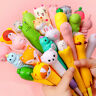 Kawaii Design Cartoon Plastic Gel Pen Signature Office Ballpoint Stationery Gift