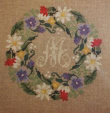 Cross Stitch Pattern, Monogram Pattern, Monogram Champetre by Rouge du Rhin