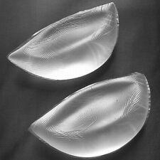 """""JUMBO"""" Silicone Insert Pads Gel Push Up Bra Breast Enhancer Bikini Swimsuit D"