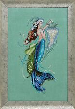 Siren and the Shipwreck - Mermaid  - Cross Stitch Chart - FREE POST