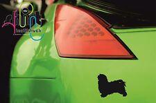 A 850 - Havaneser  Hund Dog Aufkleber Autoaufkleber  Sticker