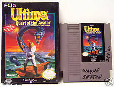 ULTIMA Quest of the Avatar (Nintendo Entertainment System) CART + BOX  NES