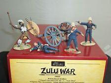 BRITAINS 20089 ZULU WAR LAST SHOT BRITISH ROYAL ARTILLERY 7LB GUN + FIGURE CREW