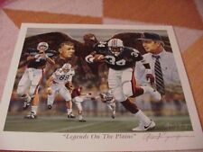 Auburn Tigers Legends Print-Zuniga-Bo Jackson/Sullivan