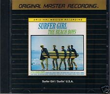 Beach Boys Surfer Girl/Surfin 'Usa MFSL ORO CD Giappone di e