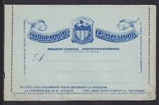 Salvador H&G A3 mint 1895 5c blue Letter Card
