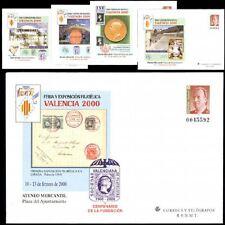 ESPAÑA SOBRE ENT.POST.2000 58 VALENCIA 2000 5v.