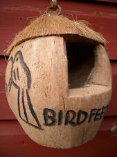 Completely Natural Coconut Hanging Wild Bird Feeder